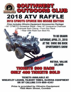Southwest Outdoors Club ATV Draw