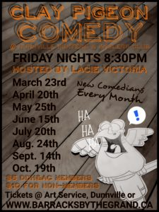 Dunville Comedy Night @ Dunnville Hunters & Anglers Club | Ontario | Canada