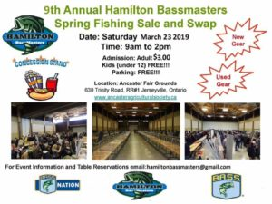 Hamilton Bassmasters Sale and swap
