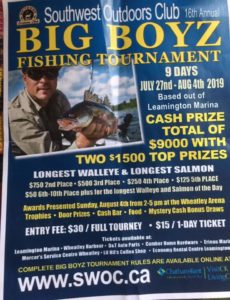 Big Boyz Fishing Tournament @ Leamington Marina