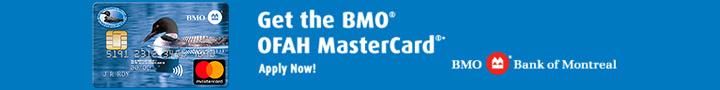 Earn AIR MILES rewards miles with BMO OFAH MasterCard