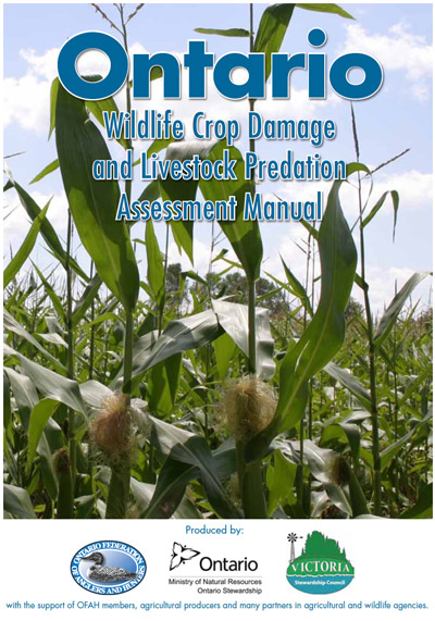 Ontario Wildlife Crop Damage and Livestock Predation Assessment Manual