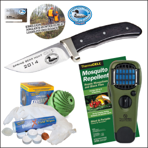 Bear Hunter Membership Package Products