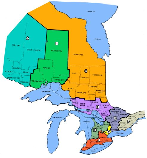 Ofah zones ontario federation of anglers and hunters for Gardening zones ontario