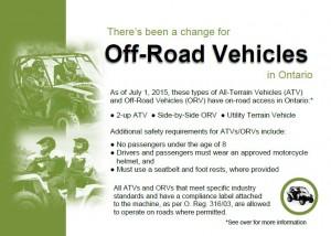 ORV info card