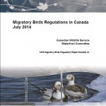 CWS Migratory Birds Regulatory Report 2014