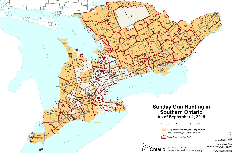 Sunday Gun Hunting | Ontario Federation of Anglers and Hunters